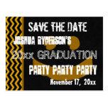 Graduation Save the Date Any Year Modern Postcard