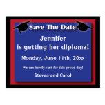 Graduation Save The Date Card