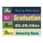 Graduation Save The Date Postcard