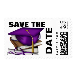 GRADUATION SAVE THE DATE STAMP