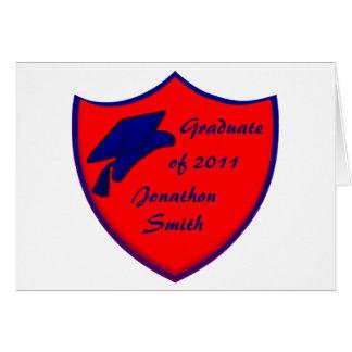 Graduation Shield Cards