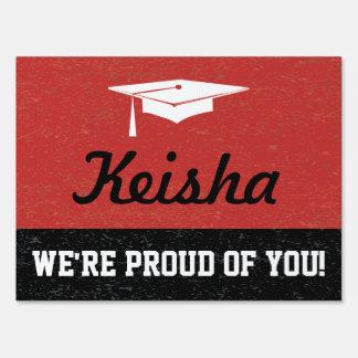 Graduation Shout Out Sign