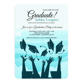 Graduation Silhouette Invitation
