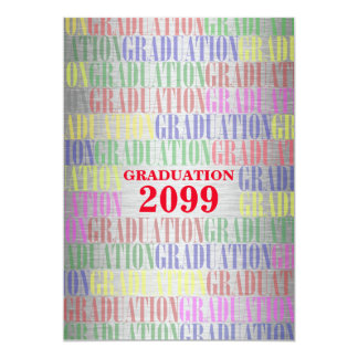 Graduation Silver Colorfull,Fresh,Information back Card