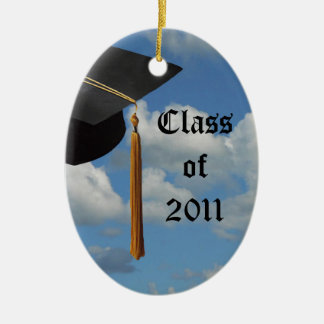 Graduation Sky Personalized Christmas Ornament