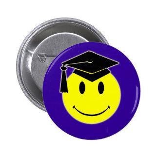 Graduation Smile Button
