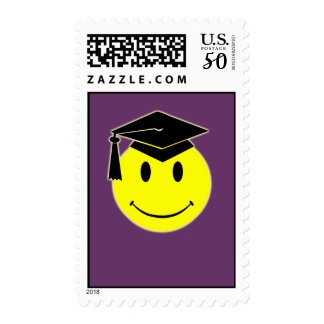 Graduation Smile Postage Stamp