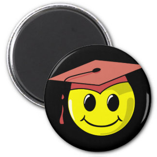 Graduation Smiley Face Stickers Refrigerator Magnets
