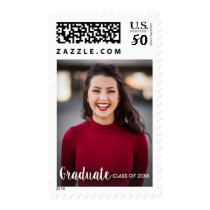 Graduation Stamp with Photo Class of 2018 custom