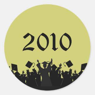 Graduation Stickers 2010 - Choose UR Colors