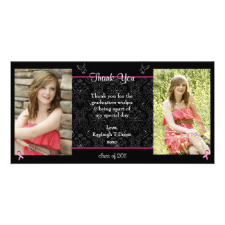 graduation thank you card