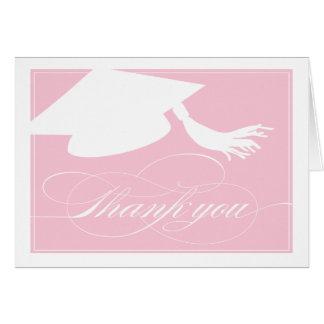 Graduation Thank You Card  |  Pink
