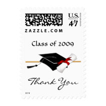 Graduation Thank You Custom Postage Stamps
