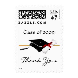 Graduation Thank You Custom Postage Stamps