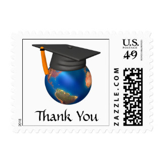 Graduation Thank You postage