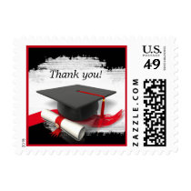 Graduation Thank You Postage Stamps