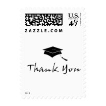 Graduation Thank You - Small Postage Stamps