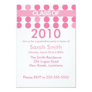 Graduation (Top 10 Views) 5x7 Paper Invitation Card