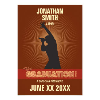 Graduation Tour Invitation (guy)