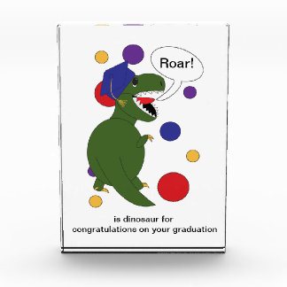 Graduation Tyrannosaurus Rex Award