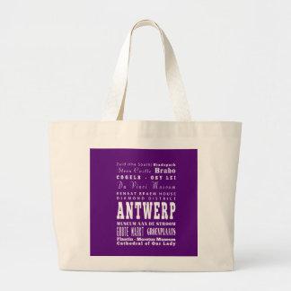 Graduation Unique Antwerp, Belgium Gift Jumbo Tote Bag