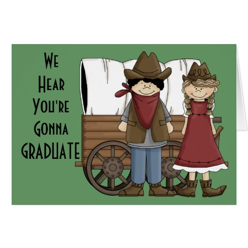 Graduation We're Impressed! Card - Western