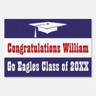 Graduation With Cap Yard Sign