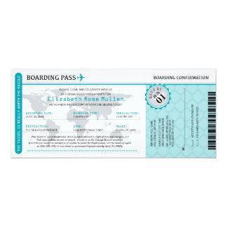 Graduation World Traveler Boarding Pass Card