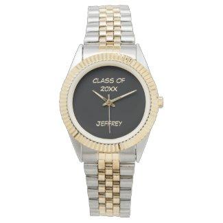 Graduation Wrist Watch, Class of, Two Tone, Unisex