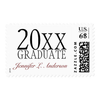 Graduation Year and Name Custom Postage