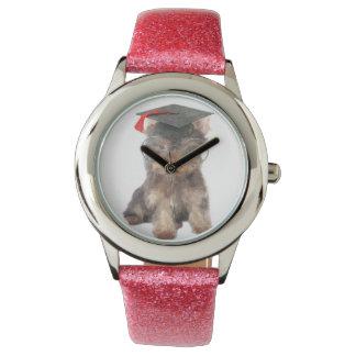 Graduation Yorkshire Terrier Wristwatches