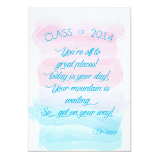 Graduation - You're Off to Great Places Card