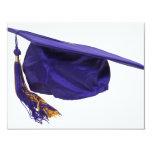 GraduationCap051009 Invitación 10,8 X 13,9 Cm