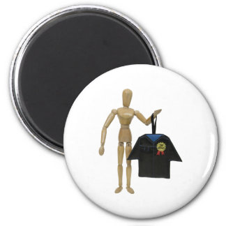 GraduationGown051009 2 Inch Round Magnet