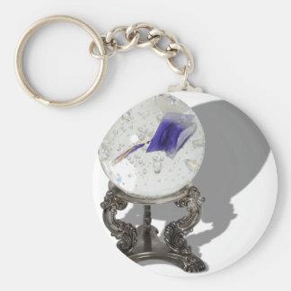 GraduationInFuture062710Shadows Basic Round Button Keychain