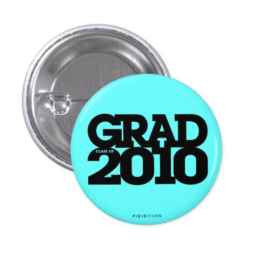 Graduations Class Of 2010 Blue Button