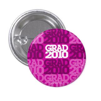 Graduations Class Of 2010 Purple Button