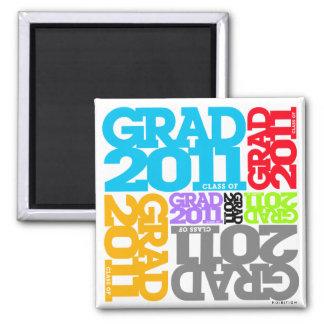 Graduations Class of 2011 Magnet Colors