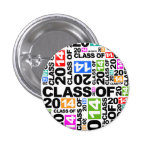 Graduations Class Of 2014 Colors Button