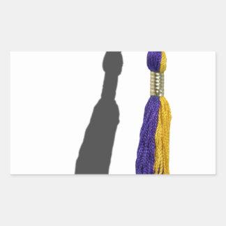 GraduationTassle061615.png Rectangular Sticker