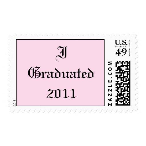 Gradué 2011. Rosa y negro. Personalizado Envio