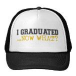 ¿Gradué, ahora qué? Gorros Bordados