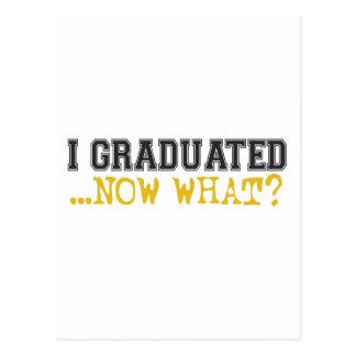 ¿Gradué, ahora qué? Postales