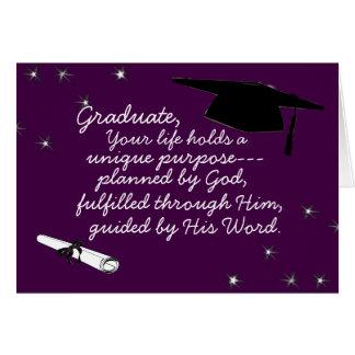 Gradúe, sus asimientos de la vida que un propósito felicitaciones
