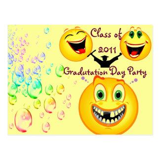 Gradutation Party_Postcard Postcard