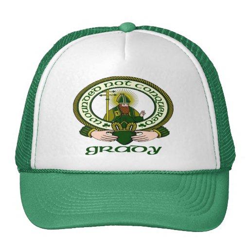 Grady Clan Motto Cap Hat