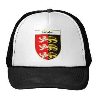 Grady Coat of Arms/Family Crest Mesh Hat
