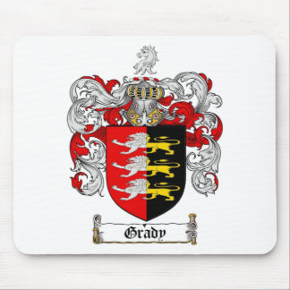 GRADY FAMILY CREST -  GRADY COAT OF ARMS MOUSE PAD