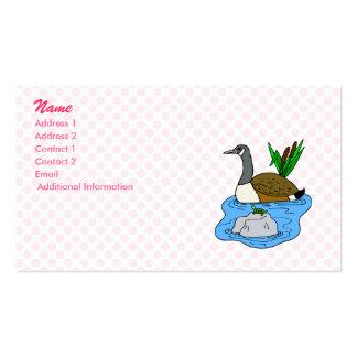 Grady Goose Business Card