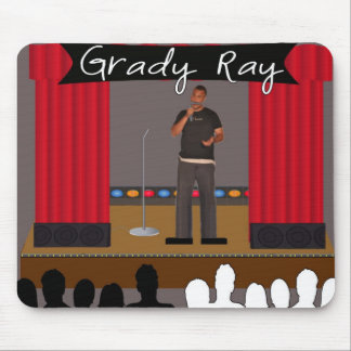 Grady Ray Stage Mouse Mouse Pad